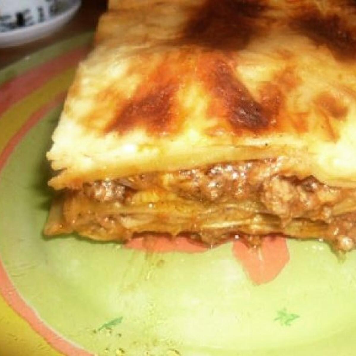 Ezen a képen: Lasagne Helena konyhájából