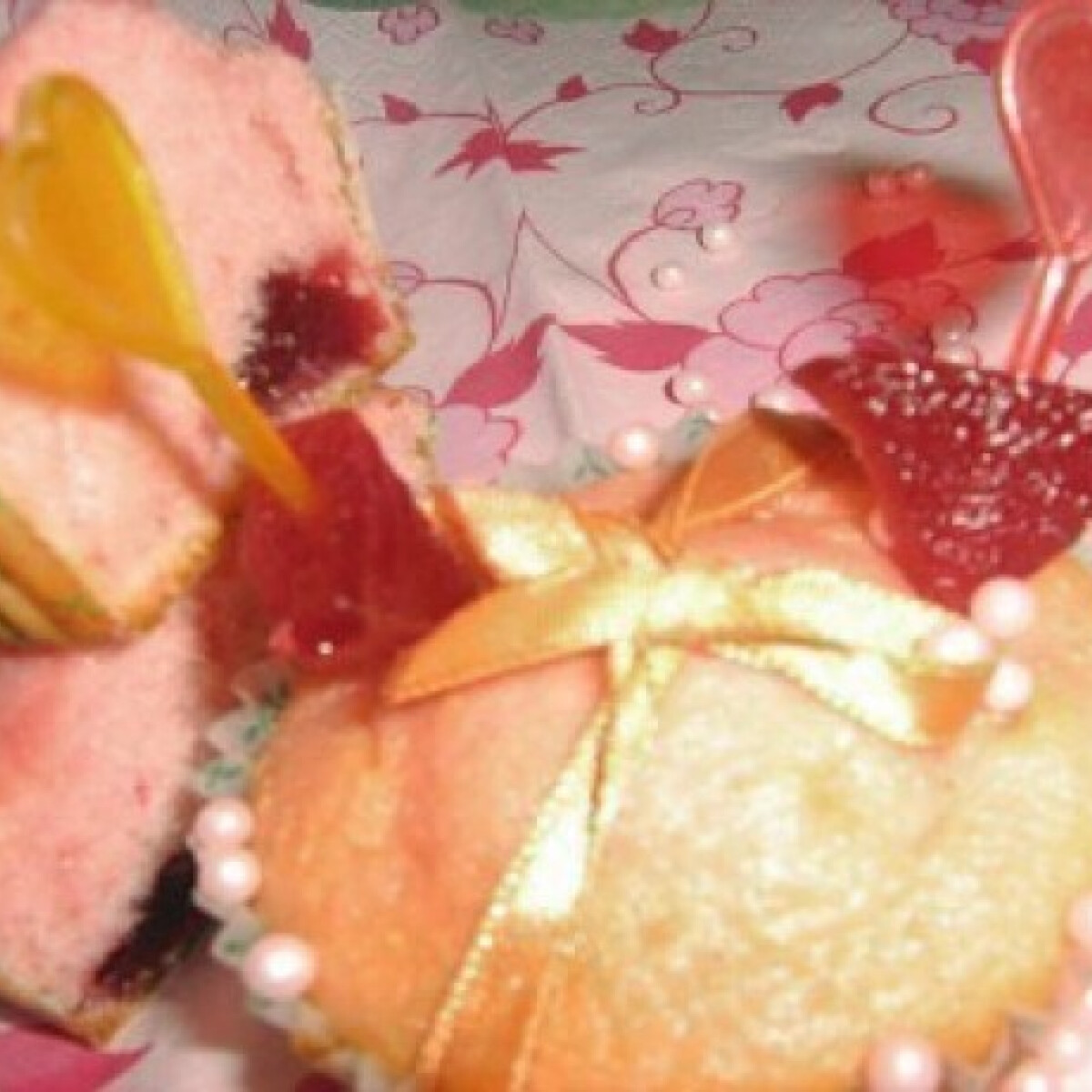 Erdei gyümölcspudingos muffin