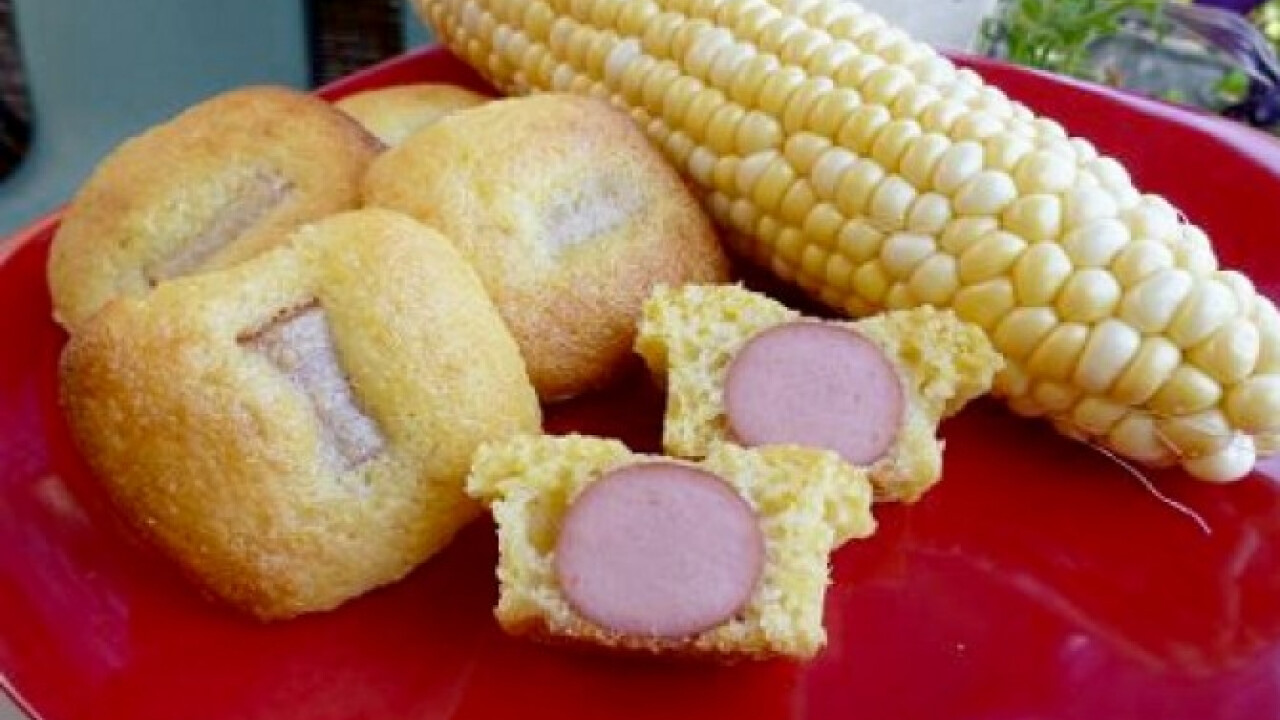 Falatnyi corn dog