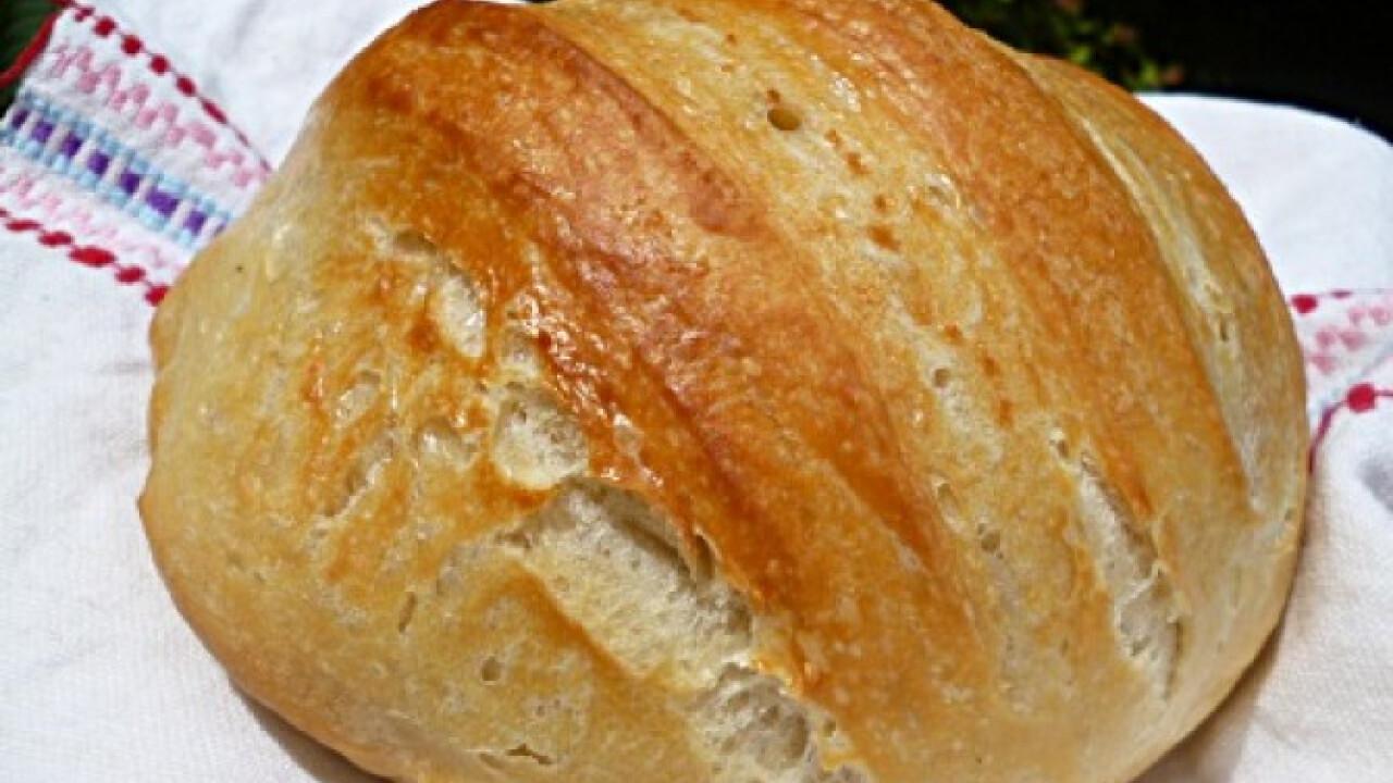 Lusta kenyér Torma bevált receptjével