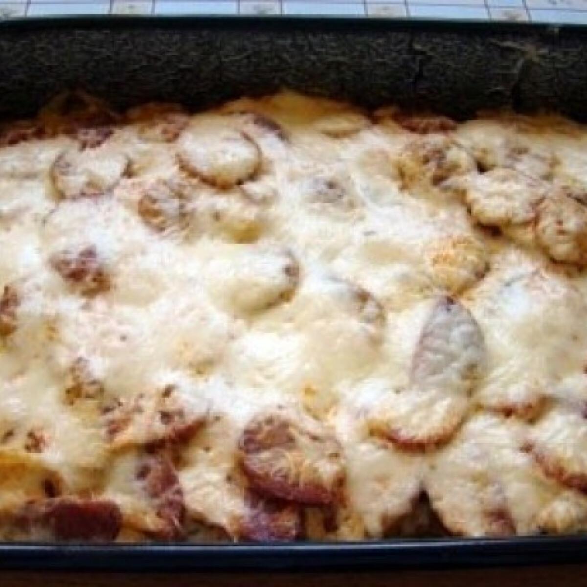 Ezen a képen: Szalonnás rakott krumpli 2.
