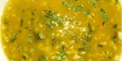 Reszelt sárgarépaleves zabpehellyel