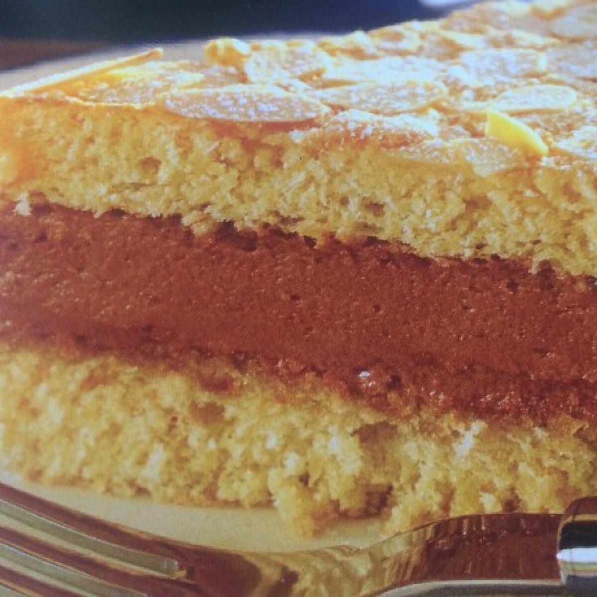 Mandulás Kossuth torta