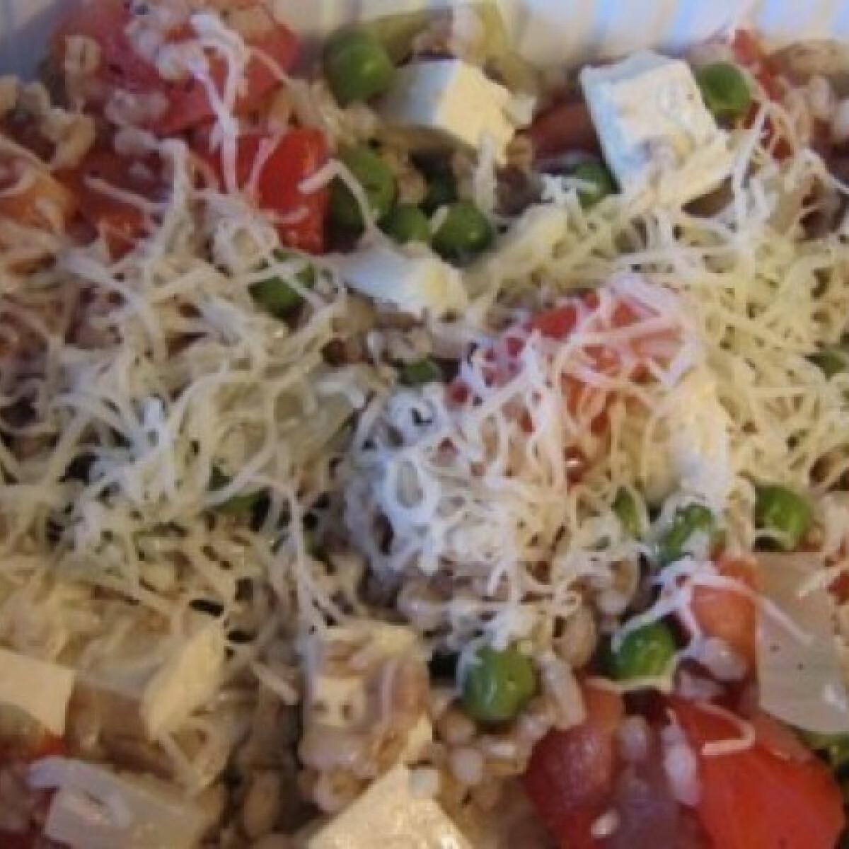 Ezen a képen: Zöldséges gersli
