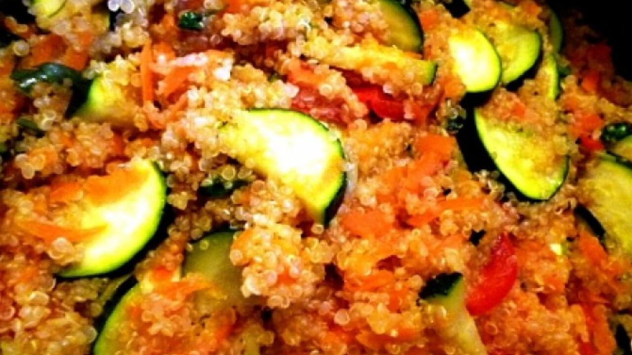 Tarka quinoa