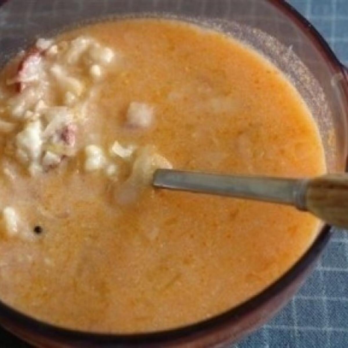 Ezen a képen: Kaszás leves