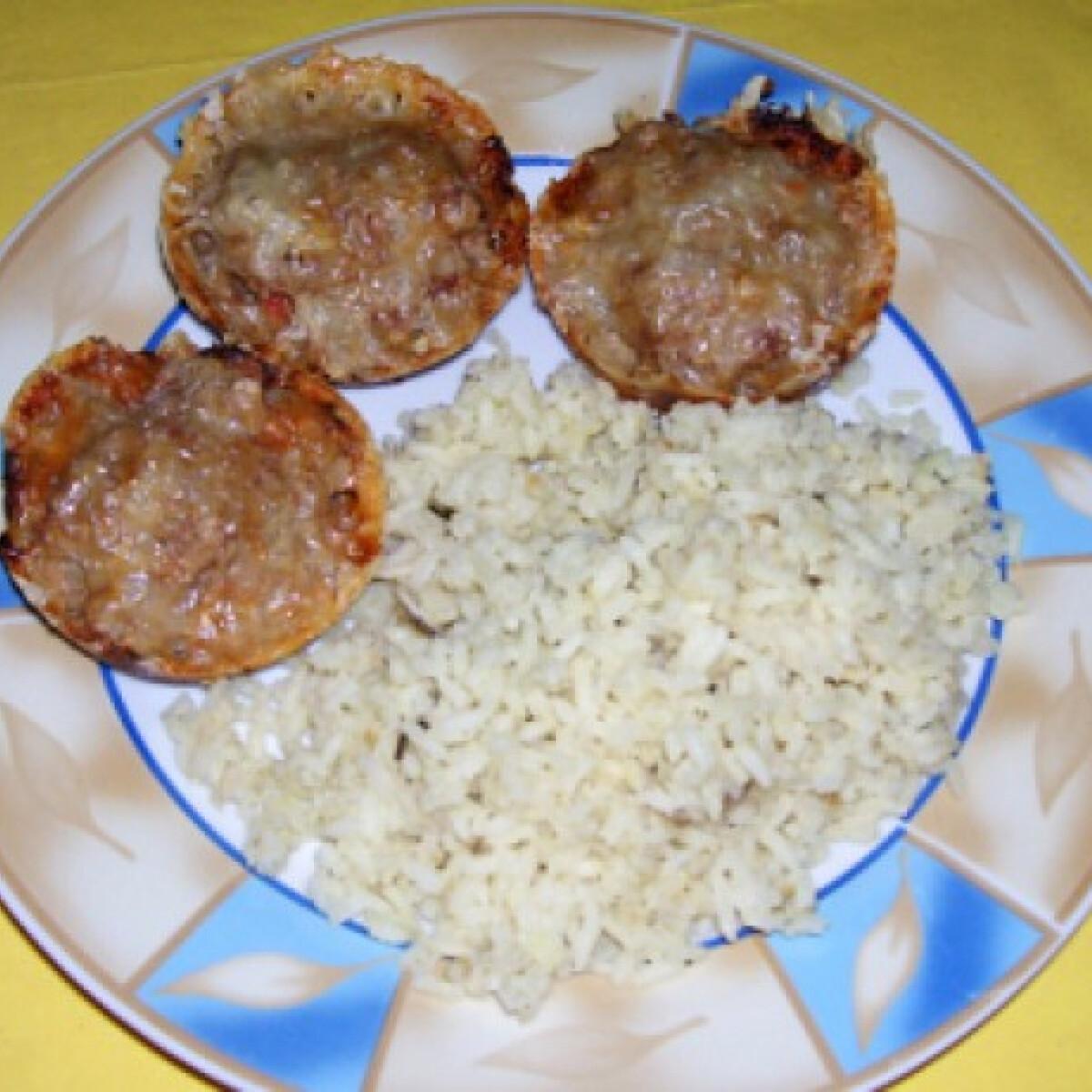 Ezen a képen: Fasírt muffin formában