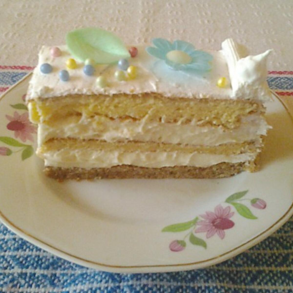 Ezen a képen: Születésnapi citromos torta