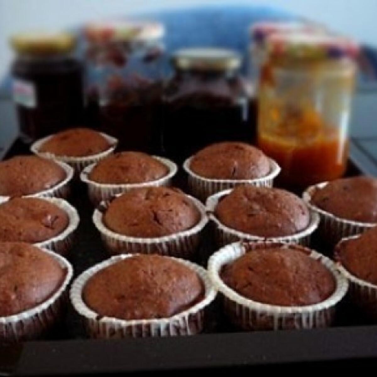 Ezen a képen: Mindent bele muffin