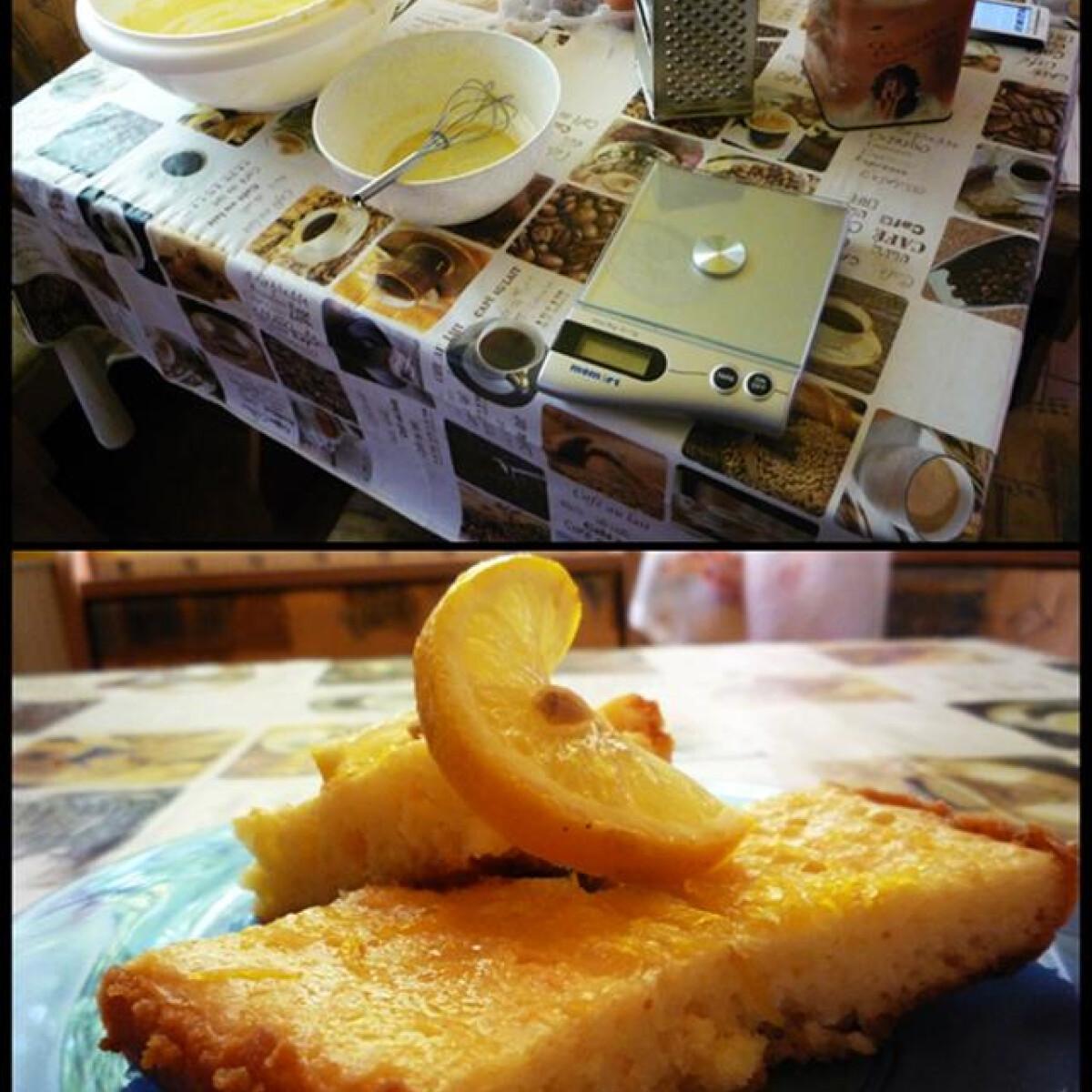 Ezen a képen: Görög citromos pite