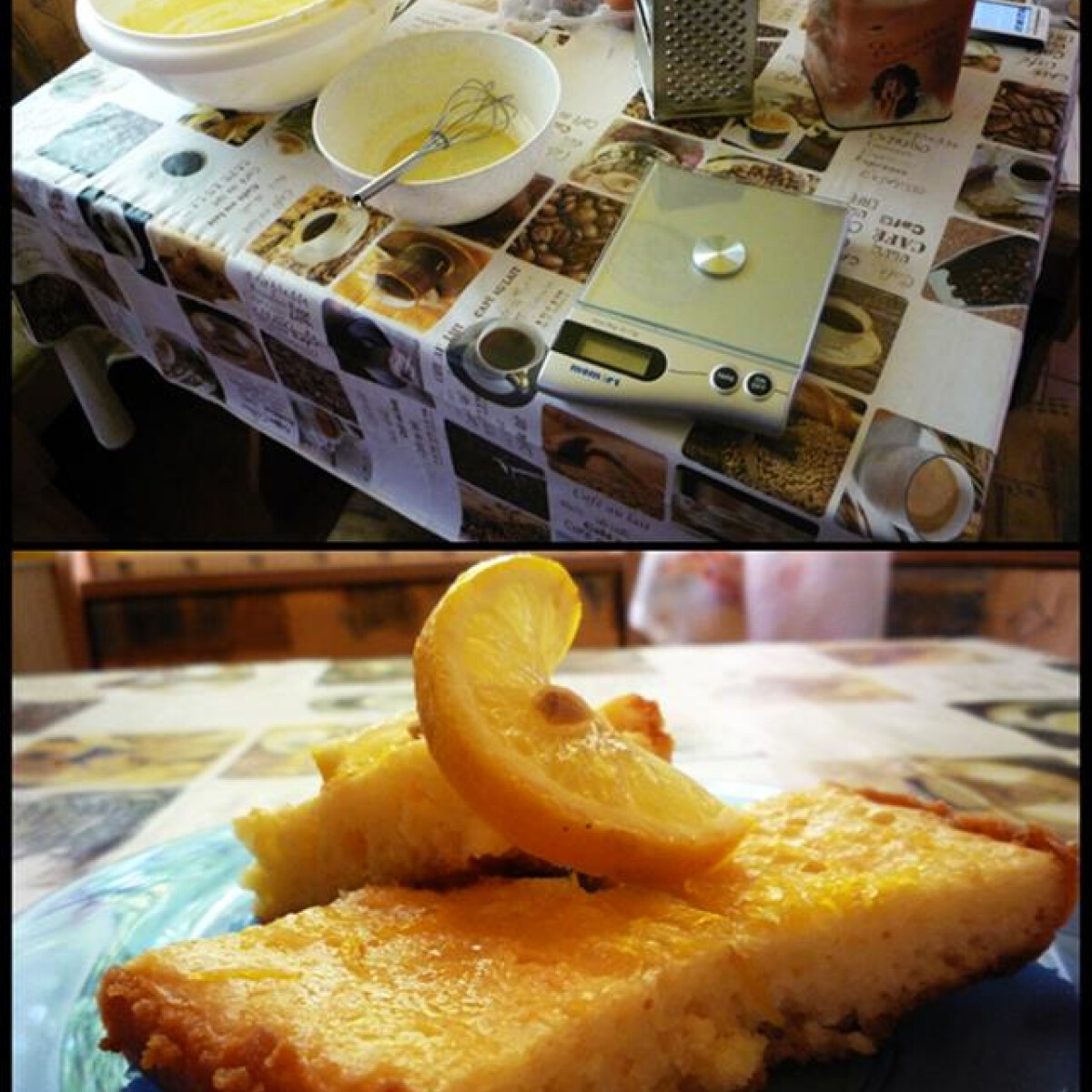Görög citromos pite