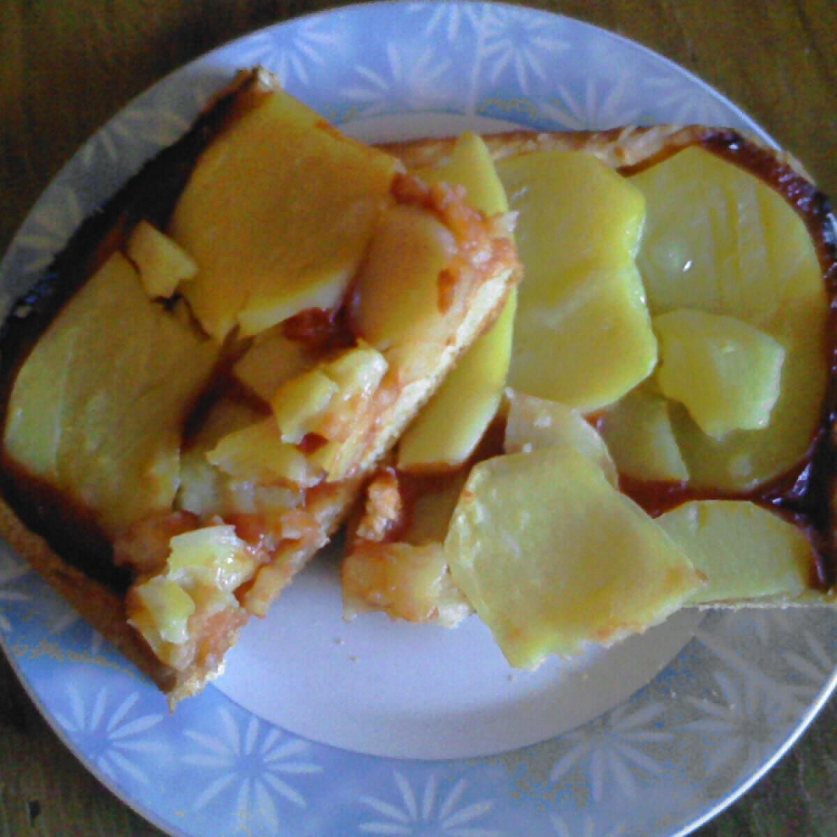 Ezen a képen: Krumplis pizza