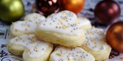 Karácsonyi citromos keksz