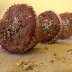 Banános-mogyorós muffin