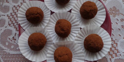 Almás-fahéjas kekszgolyók egészségesen