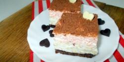 Csokis-meggyes rizskocka