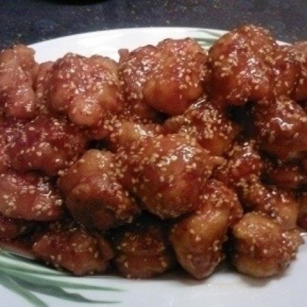 Ezen a képen: Kínai szezámmagos csirke