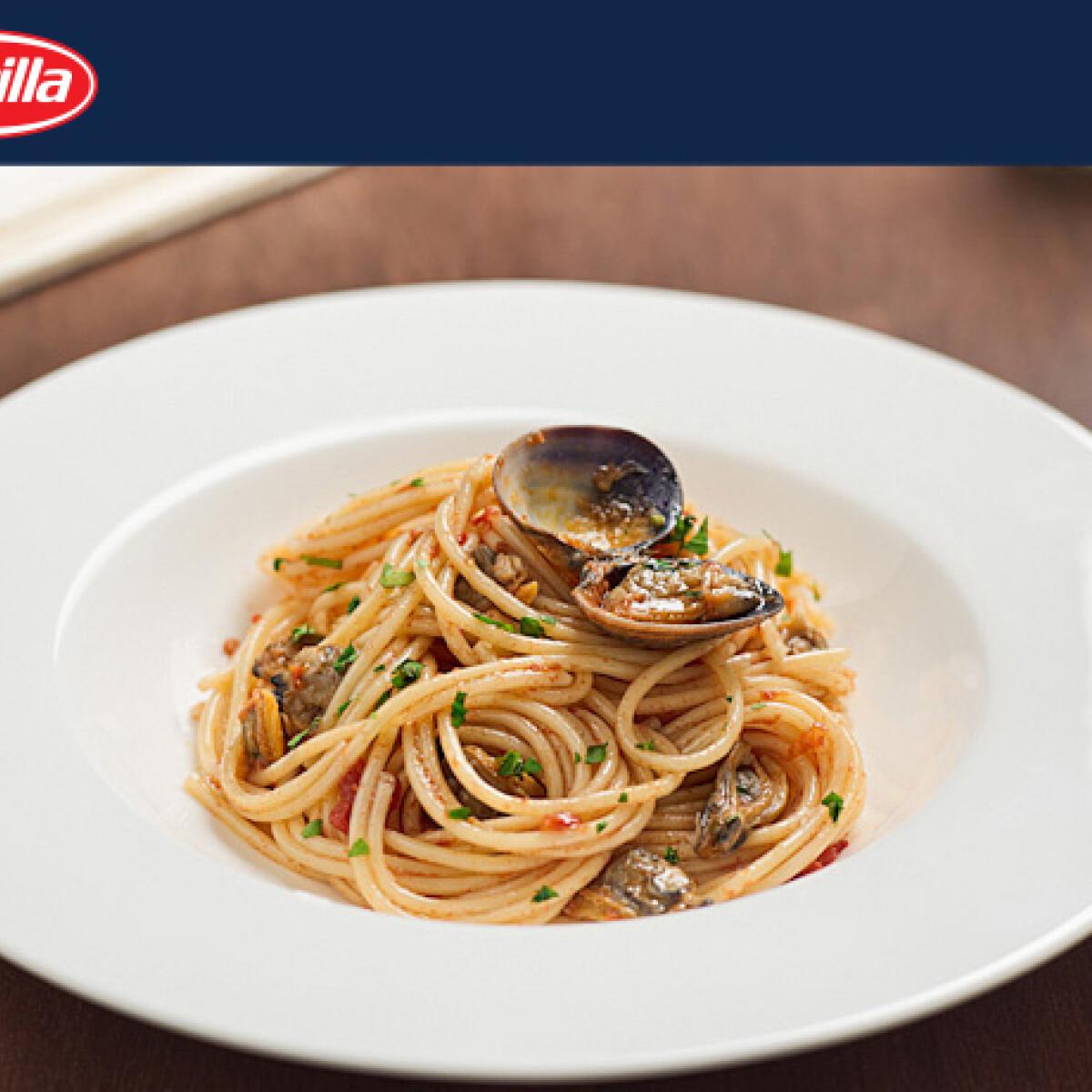 Ezen a képen: Kagylós spagetti