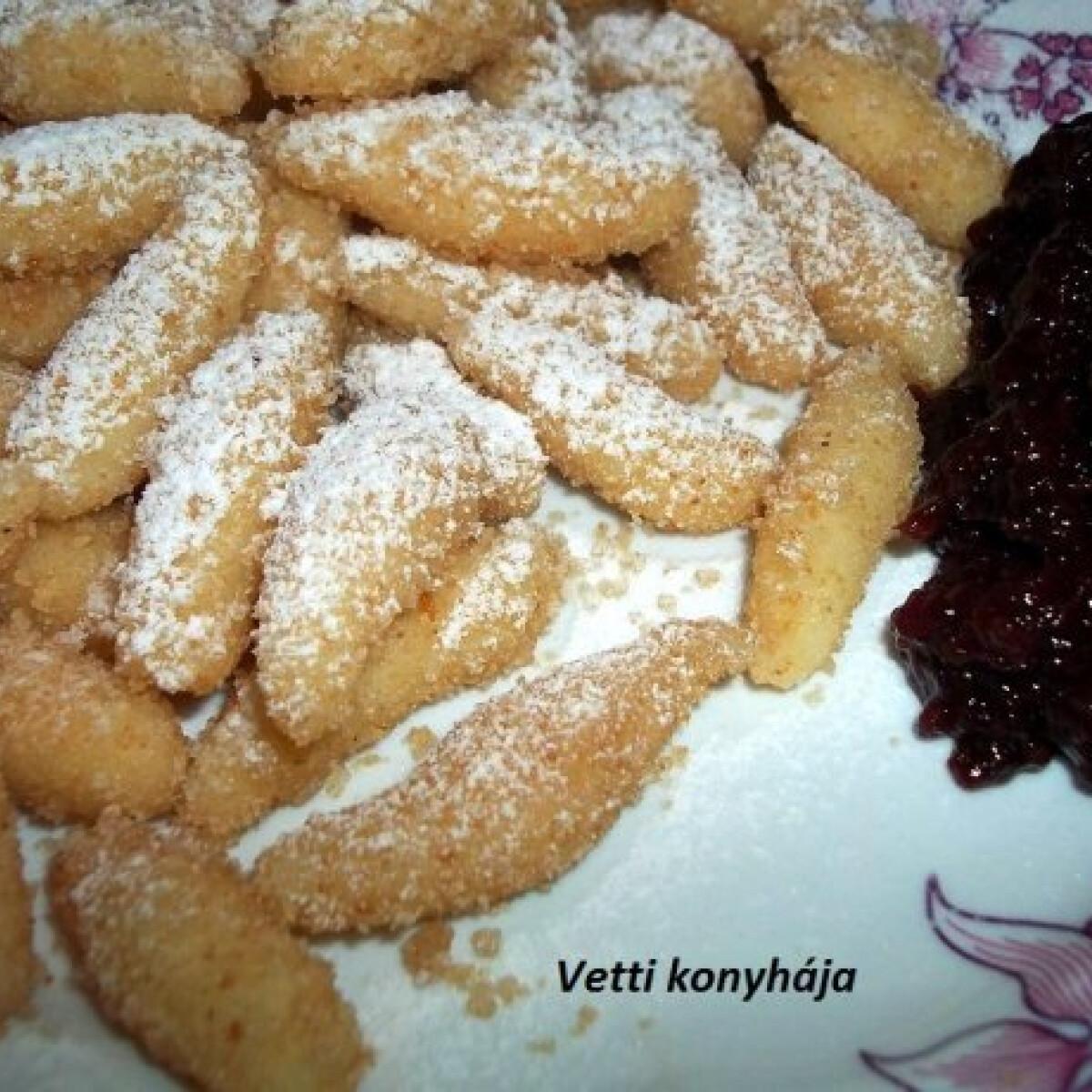 Ezen a képen: Krumplinudli Vetti konyhájából
