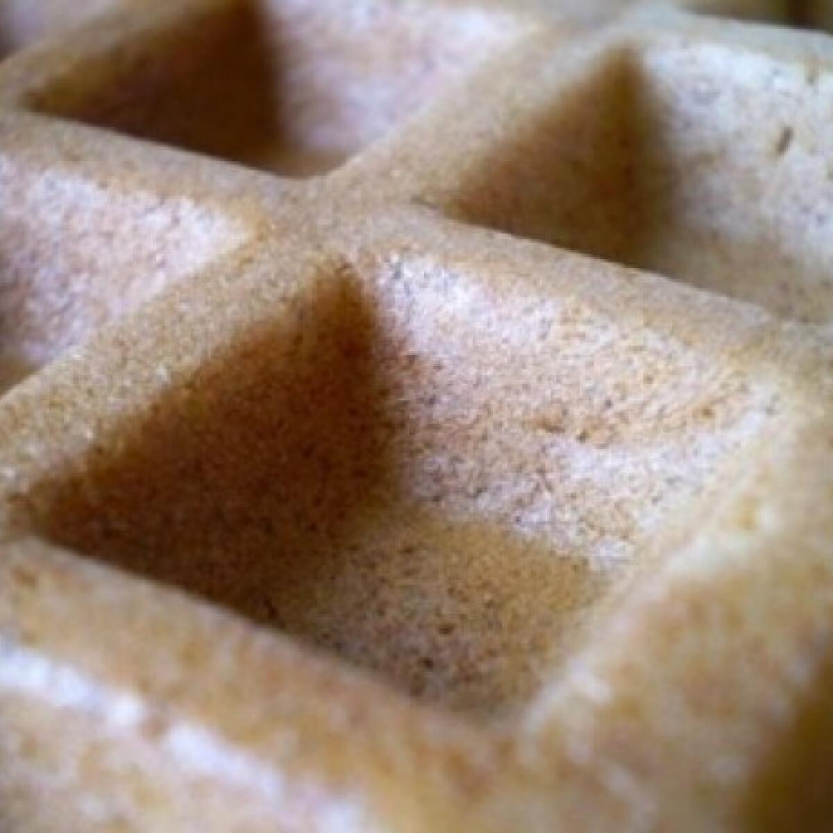 Ezen a képen: Ropogós, könnyű, édes gofri