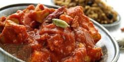 Egyszerű vörös curryalap