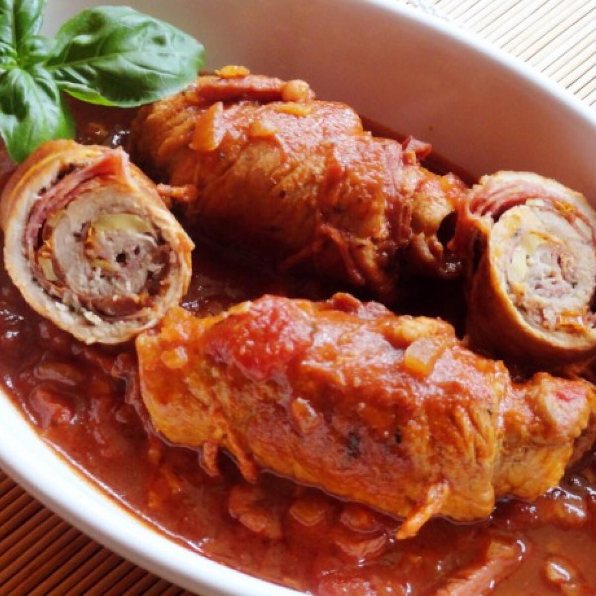 Ezen a képen: Olasz sertéstekercs