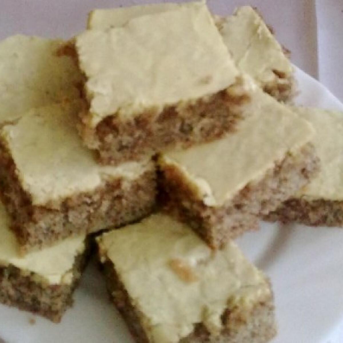 Ezen a képen: Cukormázas diós süti