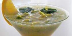 Mentás-citrusos koktél