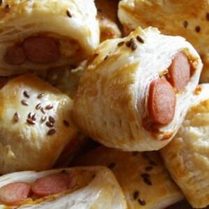 Kolbászos falatkák Jamie Oliver módra