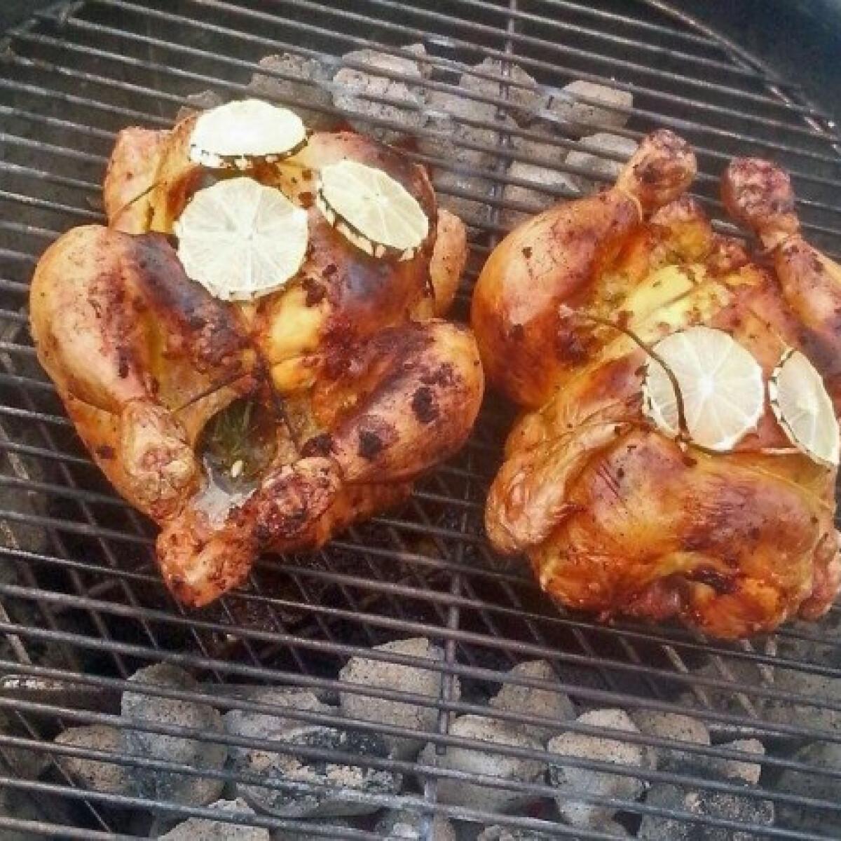 Ezen a képen: Rozmaringos-citromos csirke grillezve