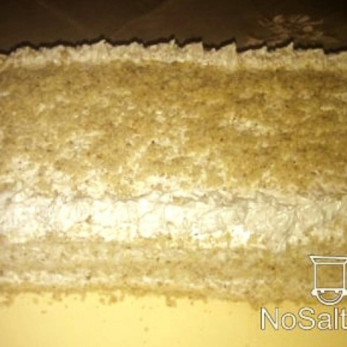 Ezen a képen: Csupa dió torta