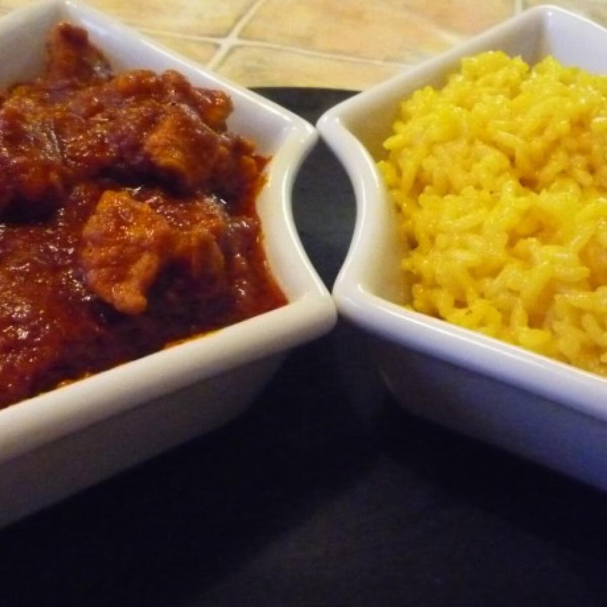 Ezen a képen: Egyszerű sertés curry Norbitól