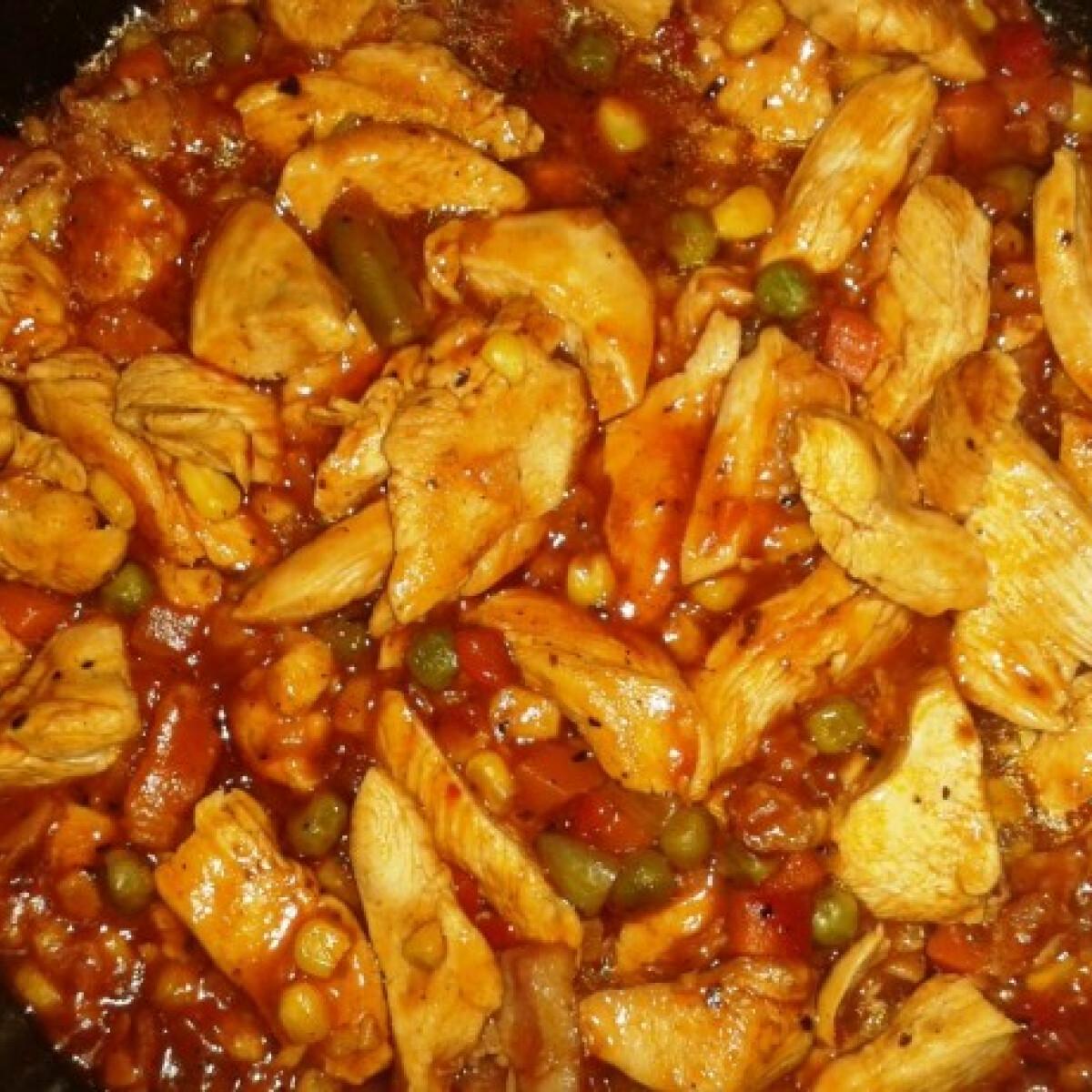 Ezen a képen: Kicsit mediterrán csirke