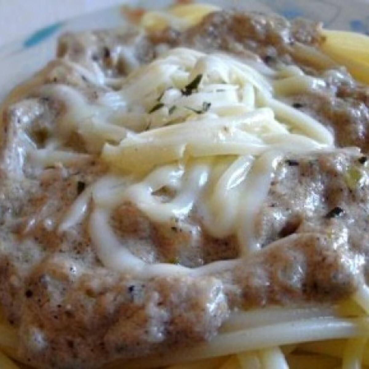 Ezen a képen: Tonhalas tésztaszósz 6. - tejszínes-majonézes