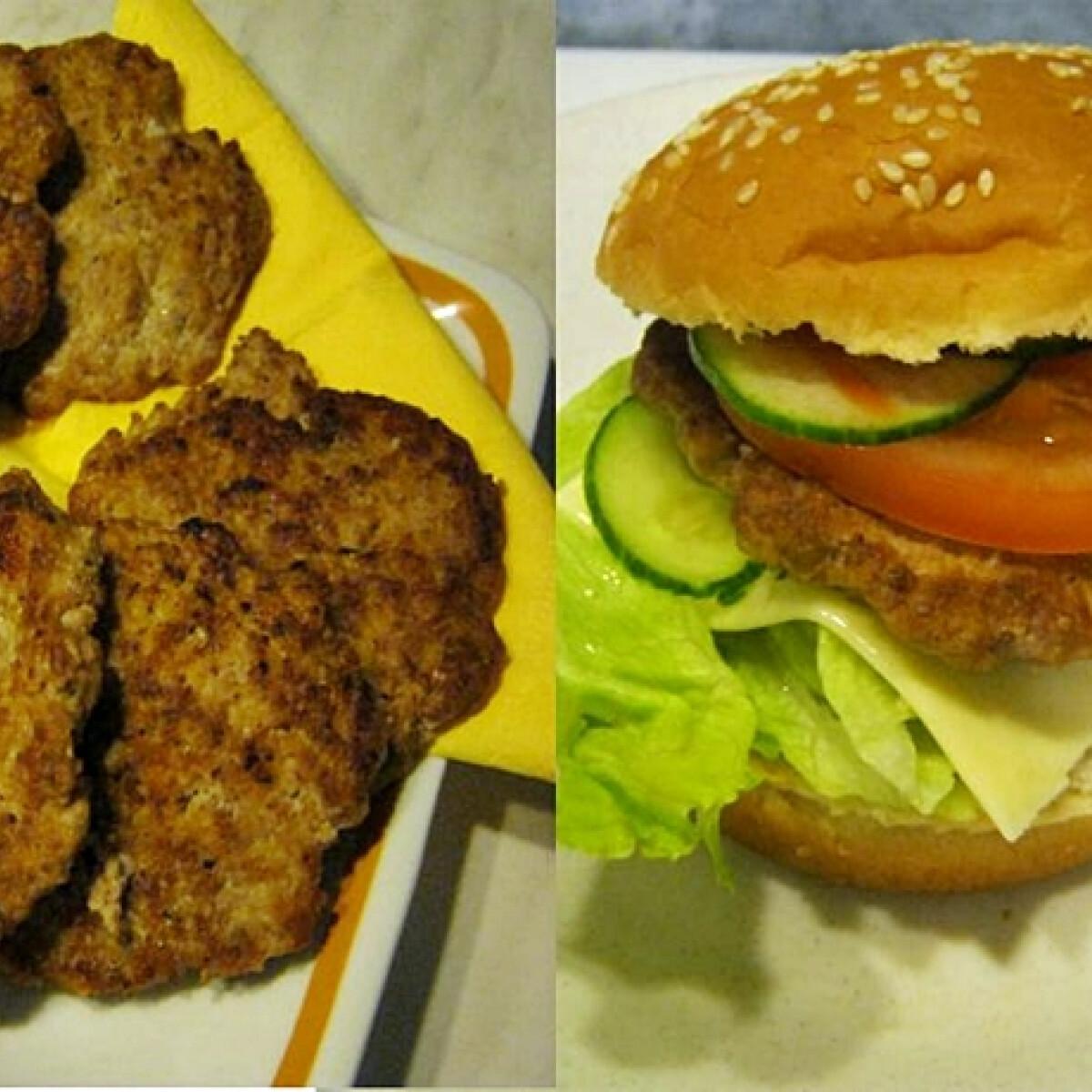 Ezen a képen: Pulykaburger Iluskától
