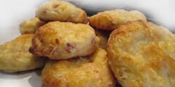 Tonhalas-túrós puffancs