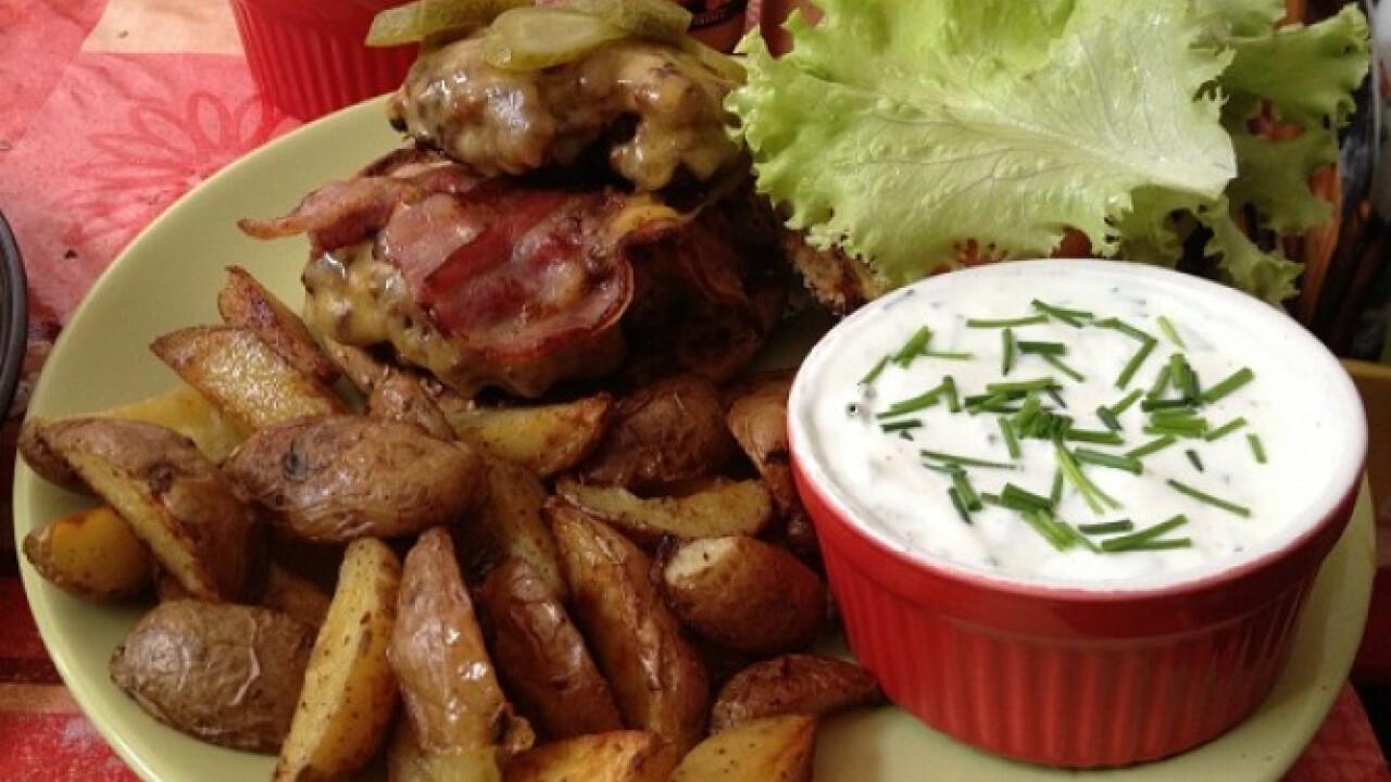 Hamburger A'la Bella konyhájából