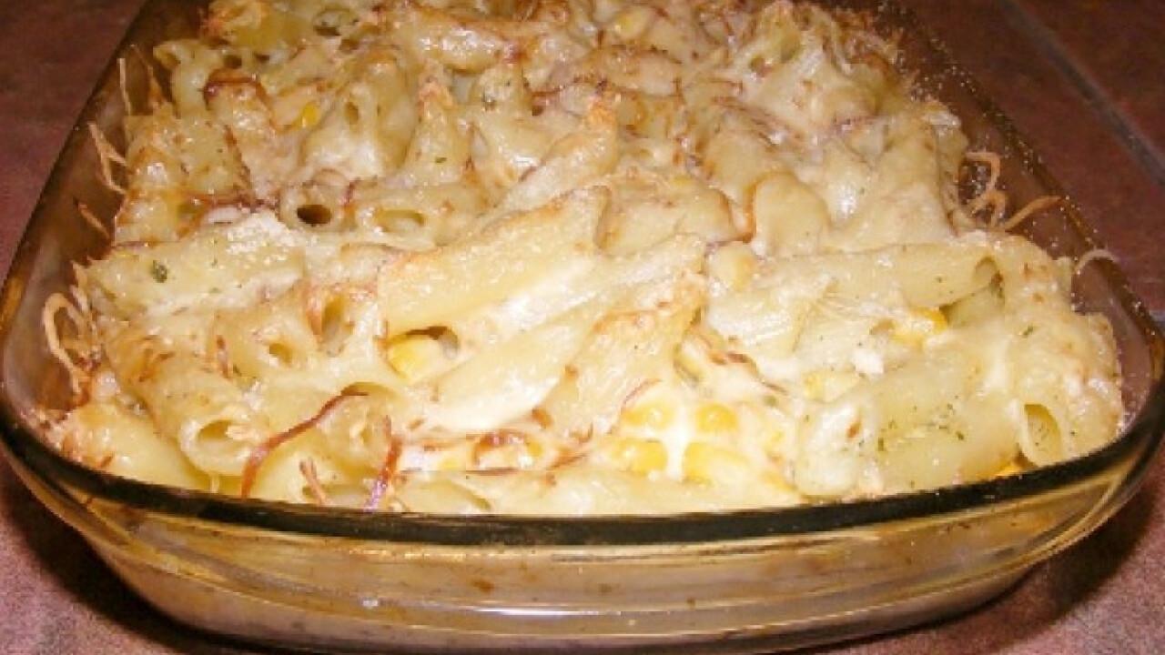 Kukoricás-cukkinis sült tészta
