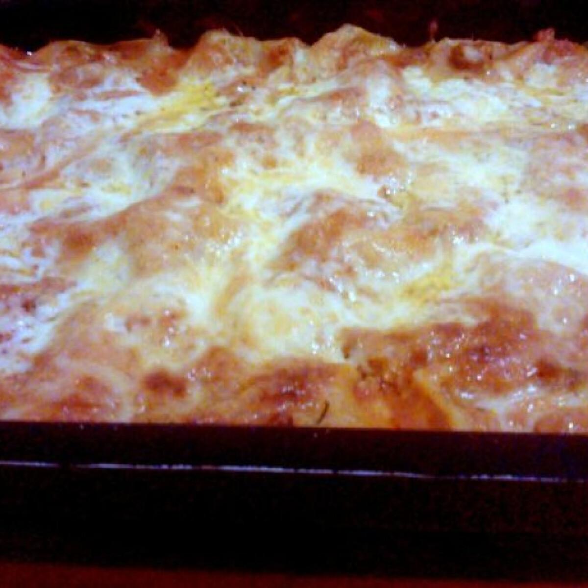 Ezen a képen: Lasagne wittrita konyhájából