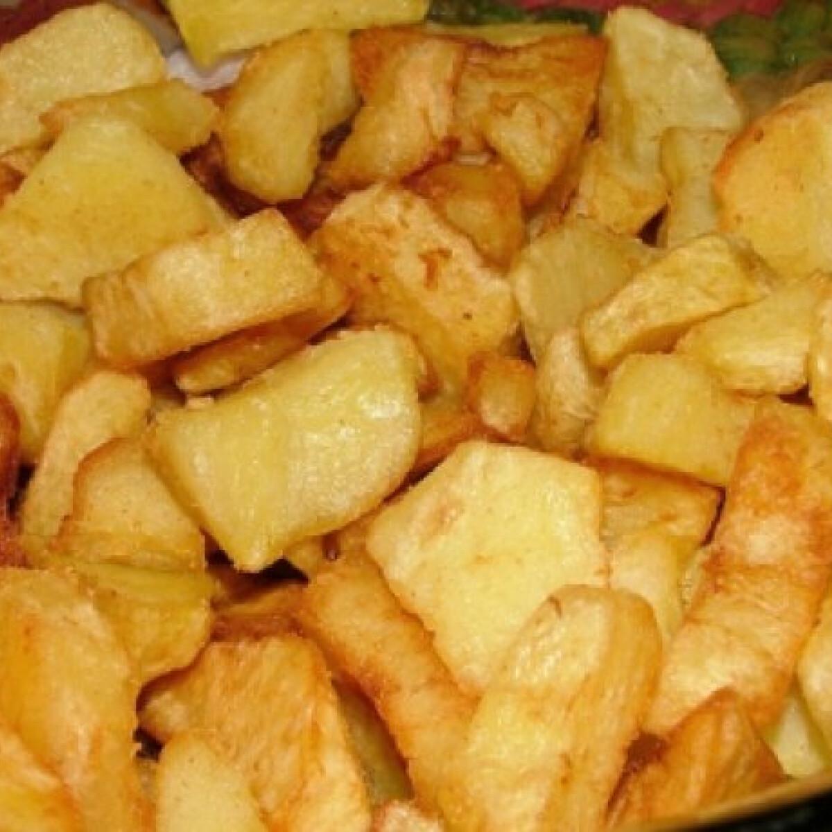 Ezen a képen: Főtt-sült krumpli