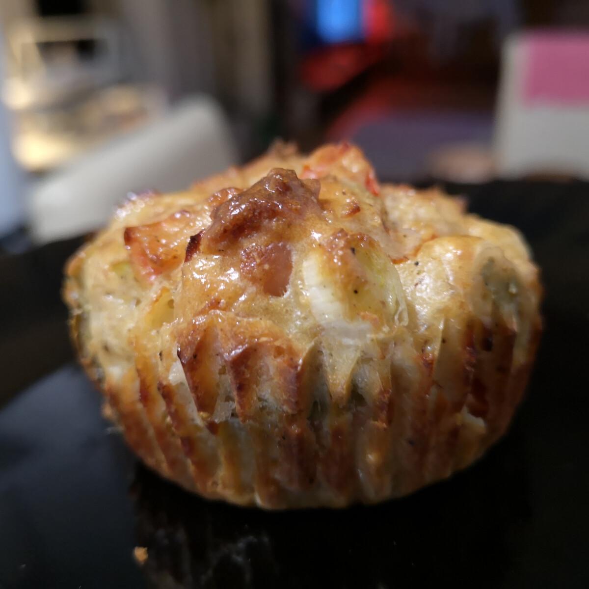 Pizza-muffin