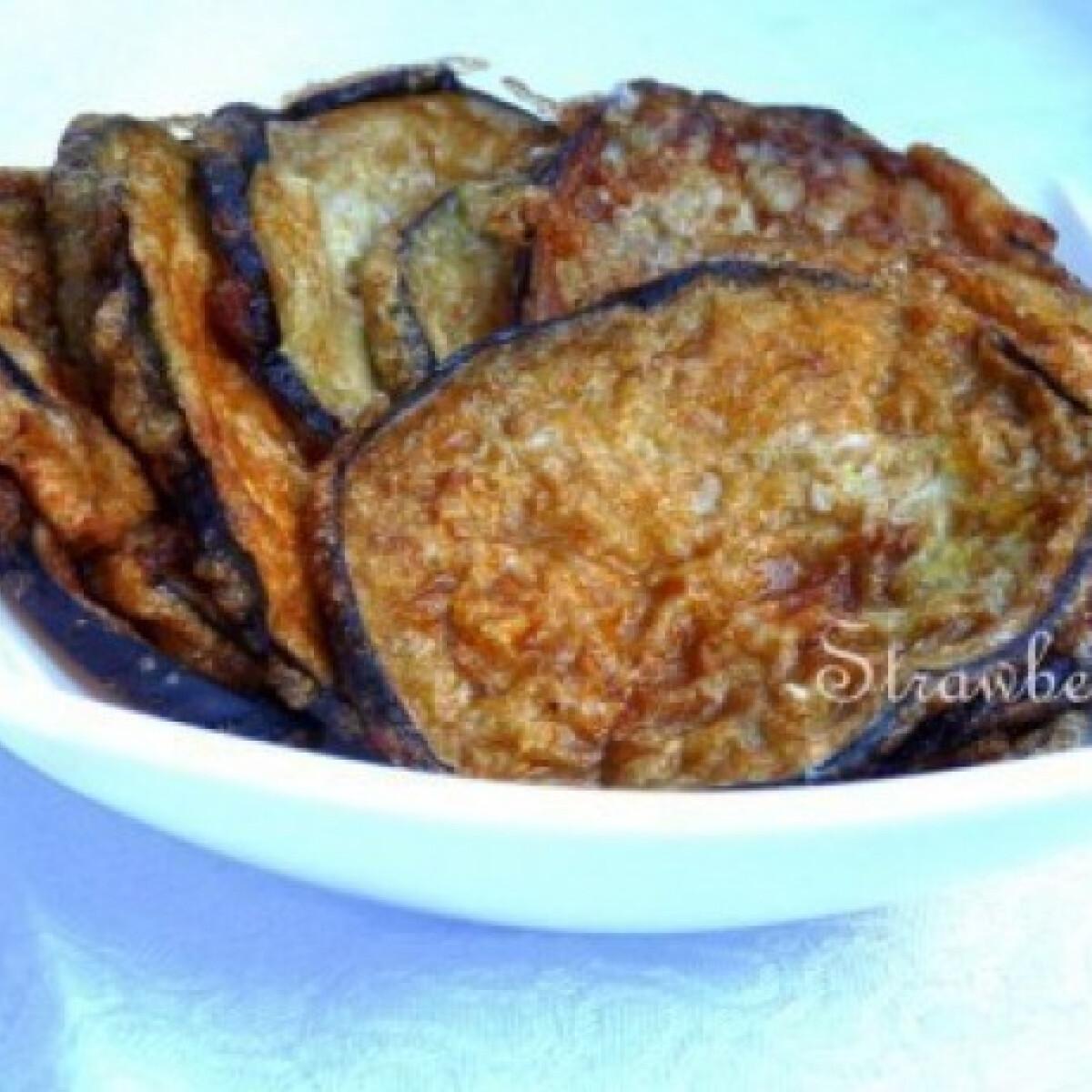 Ezen a képen: Padlizsán snack, vagy mi
