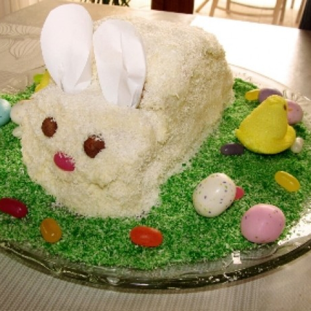 Ezen a képen: Húsvéti nyuszi torta