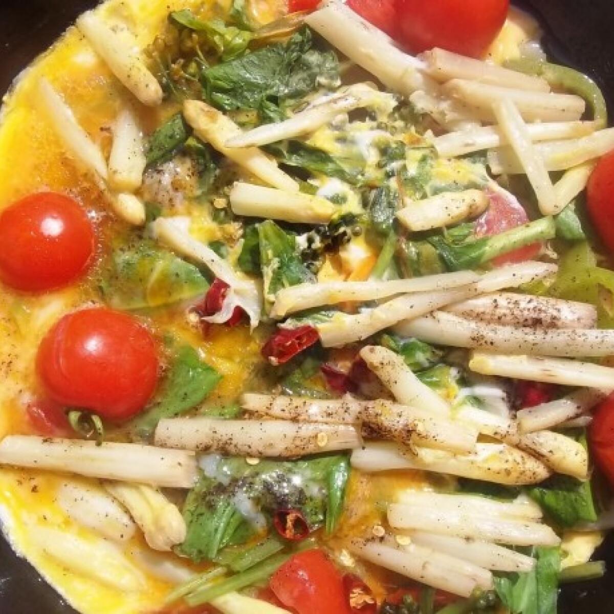 Ezen a képen: Felturbózott spanyol tortilla