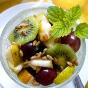 Őszi gyümölcssaláta