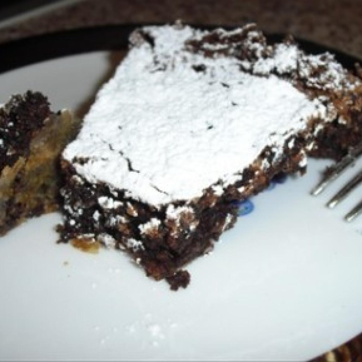 Ezen a képen: Caprese - torta gluténmentes