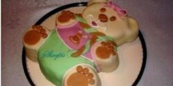 Téli maci torta - gesztenyés