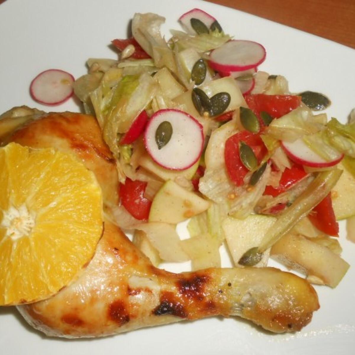 Ezen a képen: Spanyol csirkecomb Era konyhájából