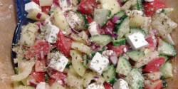 Görög saláta nikuszbaby konyhájából