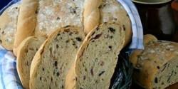 Görög olívabogyós kenyér
